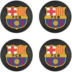 Stickers autocollant moyeu de jante FC Barcelone