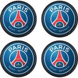 Stickers autocollant pour moyeu de jante PSG Paris Saint Germain