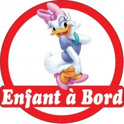 Stickers autocollants enfant a bord Minnie