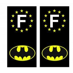 2 Stickers autocollant...