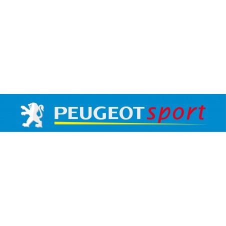 Sticker pare soleil Peugeot sport