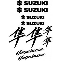 Stickers autocollants Suzuki Hayabusa