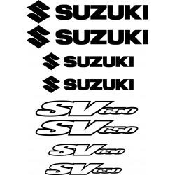 Stickers autocollants Suzuki SV650