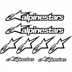 8 Stickers- Autocollants...