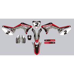 Kit deco Stickers autocollant Honda CRF 450 2017