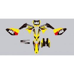 Stickers autocollant moto MX Suzuki RMZ 450