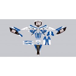 Stickers autocollant moto motocross MX Yamaha YZF 250 année 2015