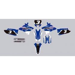 Stickers autocollant moto motocross MX Yamaha YZ 125 année 2016
