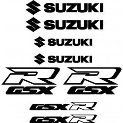 Stickers autocollants Suzuki GSX-R