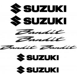 Stickers autocollants Suzuki Bandit