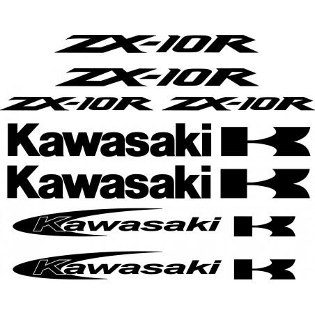 Stickers autocollants Kawasaki Zx10r