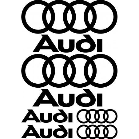 Stickers autocollants planche Audi