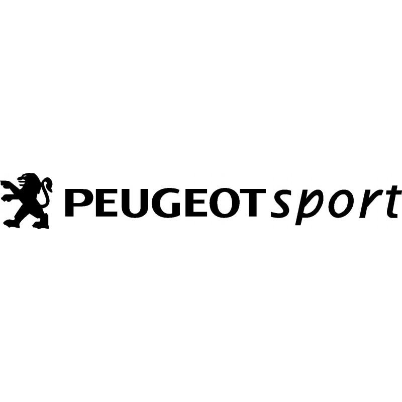 Stickers autocollants Peugeot sport