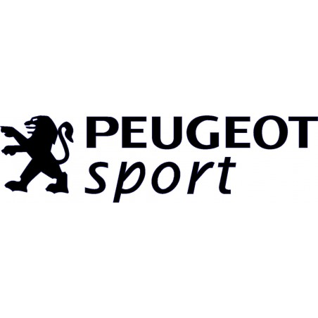 stickers autocollants peugeot sport. Black Bedroom Furniture Sets. Home Design Ideas