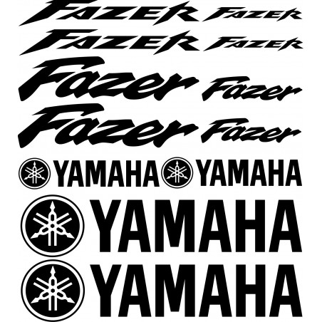 Stickers autocollants Yamaha Fazer