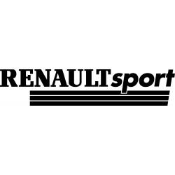 Stickers autocollants Renault sport Line