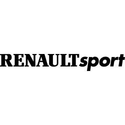 Stickers autocollants Renault sport
