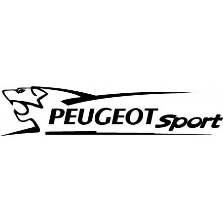 Stickers autocollants Peugeot sport lion