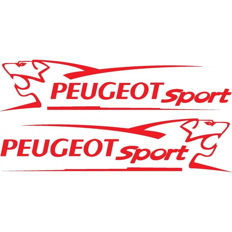 Stickers autocollants Kit déco Peugeot sport Lion
