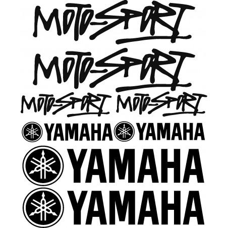 Stickers autocollants Yamaha Motosport