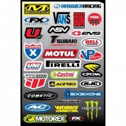 29 stickers autocollants...
