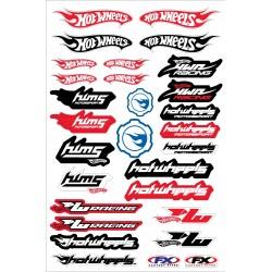 29 stickers autocollants Moto FX10