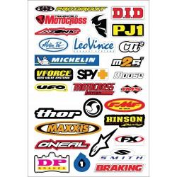29 stickers autocollants Moto FX 12