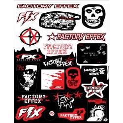 21 stickers autocollants Moto FX 14