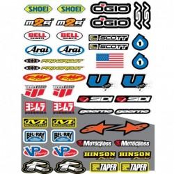 47 stickers autocollants...