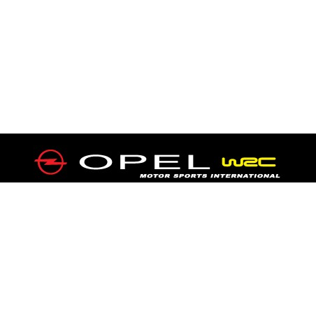 Stickers autocollant pare soleil Opel WRC