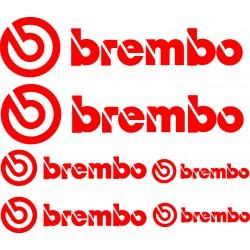 Stickers autocollants planche Brembo