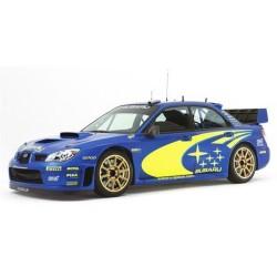 2 Stickers autocollants Kit Déco Subaru rallye WRC