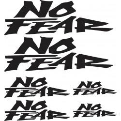 Stickers autocollants planche auto moto No Fear