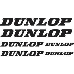 Stickers autocollants planche auto moto Dunlop