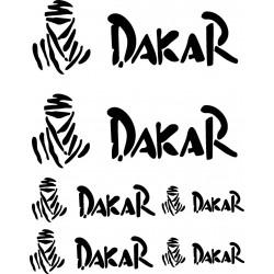 Stickers autocollants planche auto moto Dakar