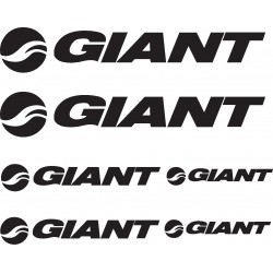 Stickers autocollants Vélo VTT Bike Giant
