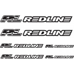 Stickers autocollants Vélo VTT Bike Redline