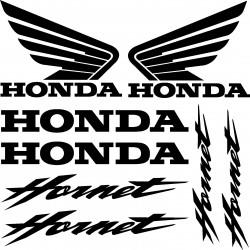 Stickers autocollants Honda Hornet