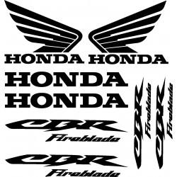 Stickers autocollants Honda CBR Fireblade