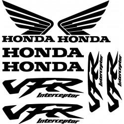 Stickers autocollants Honda VFR Interceptor