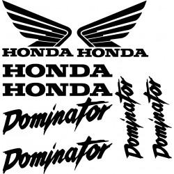 Stickers autocollants Honda Dominator