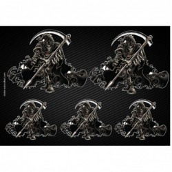 Stickers autocollants Moto Reaper