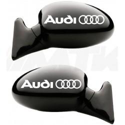 Stickers autocollants rétroviseur Audi