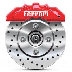 4 Stickers autocollants étrier de frein Ferrari