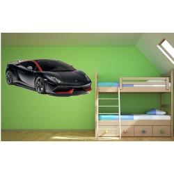 Stickers mural Lamborghini Gallardo