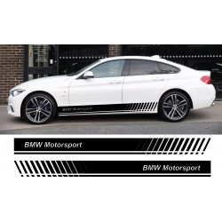 Stickers autocollants bas de caisse BMW Motorsport
