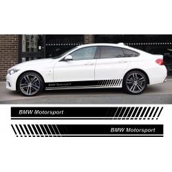 Stickers autocollants bas de caisse BMW Motorsport