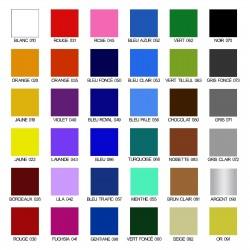 Nuancier couleurs stickers auto moto