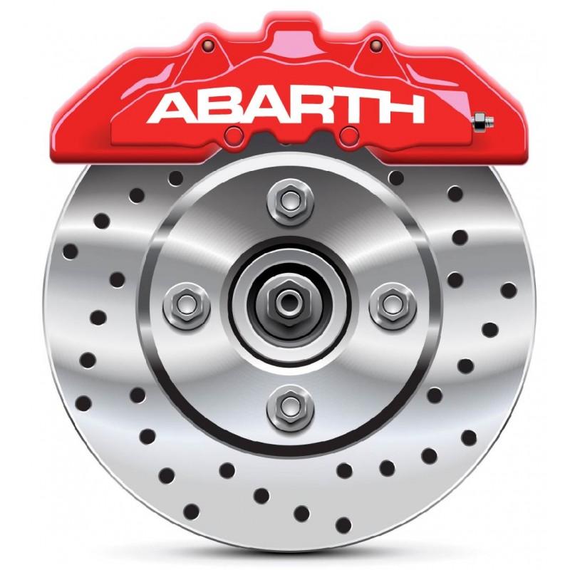Stickers autocollants étrier de frein Abarth