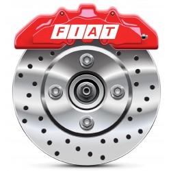Stickers autocollants étrier de frein Fiat